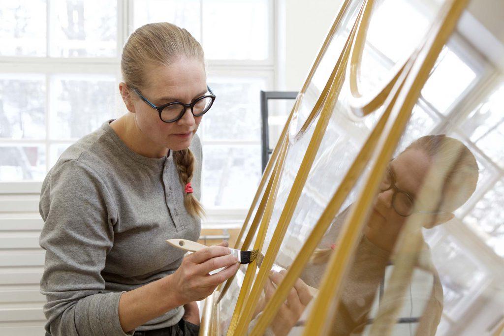 Ikkunoiden maalausta