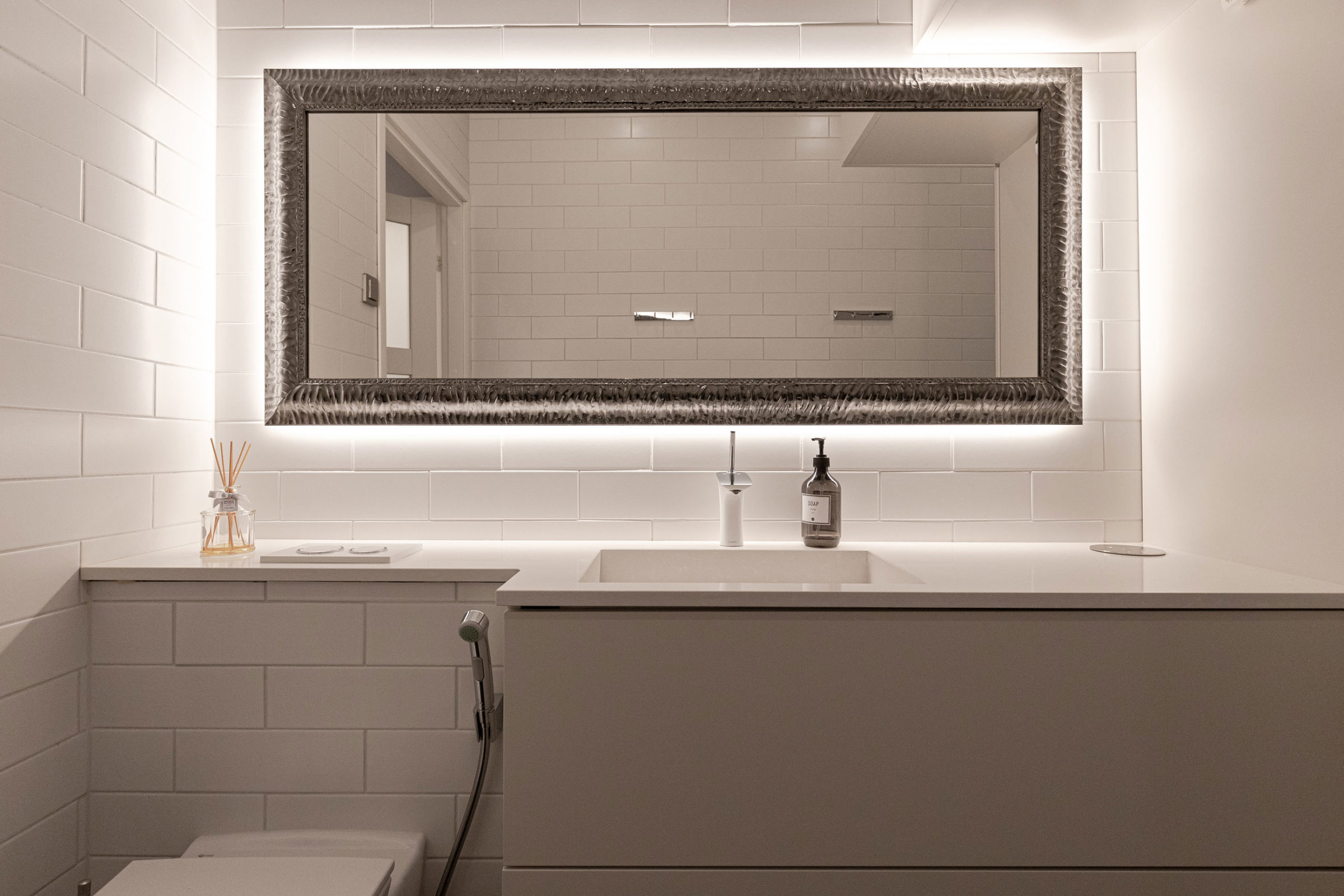 Kauneushoitola Pikku-Paratiisille suunniteltu WC